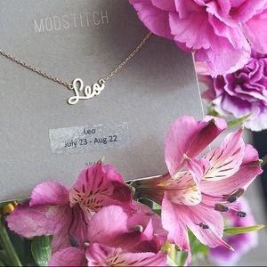 LEO | Zodiac Gold Dainty Necklace